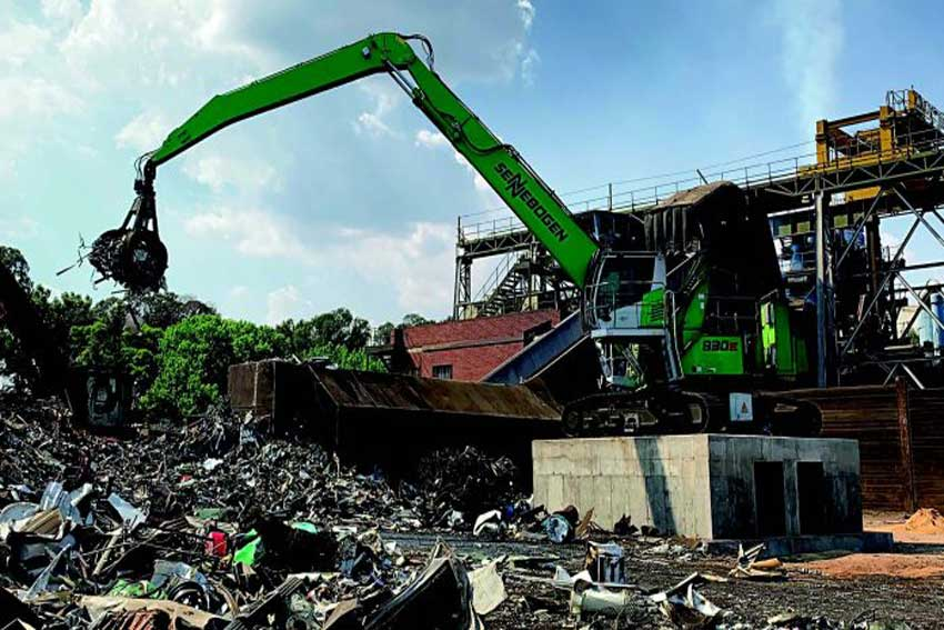 Scrap Processing Division Opts for a Green Solution